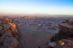 Utah-Canyonlands National Park-Maze District Stock Image