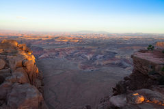 Utah-Canyonlands National Park-Maze District-Panorama Point Royalty Free Stock Photography