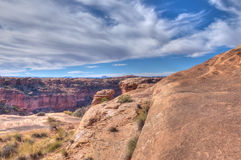 Utah-Canyonlands National Park-Needles District Stock Photography