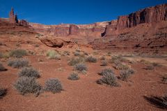 Utah-Canyonlands National Park- White Rim Road Stock Photography