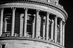 Utah Capital Building, Salt Lake City. Columns on the Utah Capital Building , Salt Lake City, Utah, September 2009 Royalty Free Stock Photos