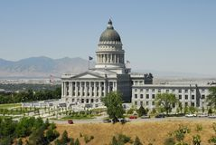 Utah capitol Stock Photos