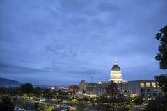 Utah Capitol w słonego jeziora mieście Utah Fotografia Royalty Free