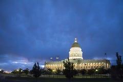 Utah Capitol w słonego jeziora mieście Utah Obrazy Stock