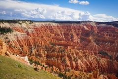 Utah Cedar Breaks National Monument royalty free stock photos