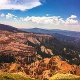 Utah, Cedar Bricks National Park Stock Images