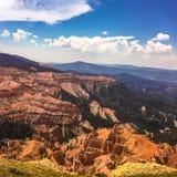 Utah, Cedrowy cegła park narodowy Obrazy Stock