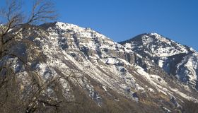 Utah County Mountains Royalty Free Stock Photography
