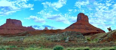 Utah cowboy arkivfoto