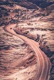 Utah Curved Road Stock Photos