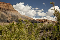 Utah Desert Badlands Royalty Free Stock Photography