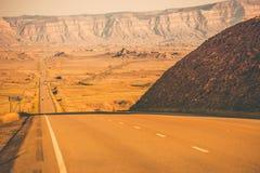 Utah Desert Highway Stock Photo