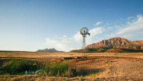 Utah Desert Ranch and WIndmill Royalty Free Stock Photos