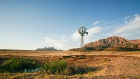 Utah Desert Ranch and WIndmill Royalty Free Stock Photos