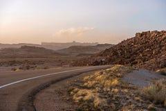 Utah Desert Road Royalty Free Stock Image