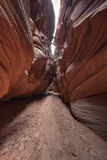 Utah Desert Slot Canyon Stock Photos