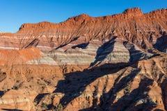 Utah Escalante Desert Landscape. The scenic landscape of the southern Utah desert in the Escalante Grand Staircase Monument Royalty Free Stock Photo