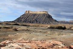 Utah: Fabrik Butte Stockbilder