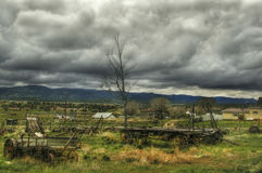 Utah Farmers' landscape Royalty Free Stock Images