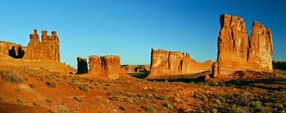 Utah-felsige Wüste Lizenzfreie Stockbilder