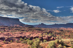 Utah-Fisher Towers-north of Moab Royalty Free Stock Photography