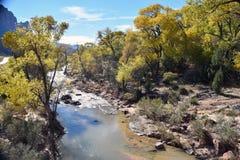 Utah flod Royaltyfria Foton