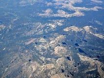 Utah från över Arkivbilder