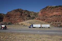 Utah-Gebirgsdurchlauf Stockbilder