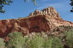 Utah-Geologie, Felsformationen Lizenzfreies Stockfoto