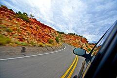 Utah Getaway Stock Photo