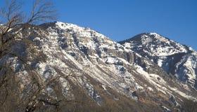 Utah-Grafschaft-Berge Lizenzfreie Stockfotografie