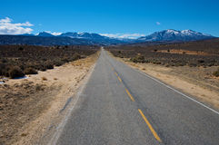 Utah Highway 211 (La Sal Mountains) Royalty Free Stock Images