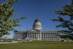 Utah huvudbyggnad, Salt Lake City arkivfoto