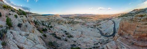 Utah huvudväg 12 miljon dollarväg Arkivfoto