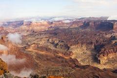 Utah kanjon nära sjön Powell Royaltyfria Foton
