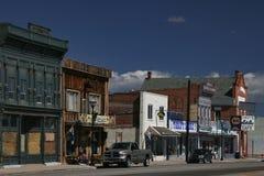 Utah-Kleinstadt Stockbild