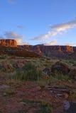 Utah krajobrazu pustyni obraz royalty free