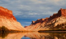 Utah, Lake, Water, Reflections, Sky Royalty Free Stock Photo