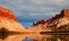 Utah, Lake, Water, Reflections, Sky Royalty Free Stock Photo