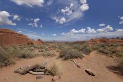 Utah Landsacpe. A beautiful desert landscape in Utah Stock Photos
