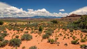 Utah-Landschaft Lizenzfreie Stockbilder