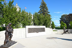 Utah Law Enforcement Memorial Royalty Free Stock Image