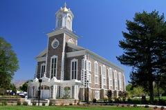 Utah: Logan Mormon Tabernacle Stock Image
