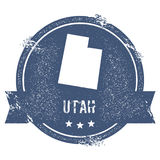 Utah mark. Royalty Free Stock Photography