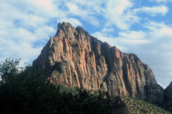 Utah monolit Fotografering för Bildbyråer