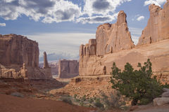 Utah monuments Stock Photo
