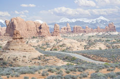 Utah monuments Royalty Free Stock Images