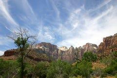 Utah nieba Zdjęcie Stock