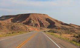 Utah: Otwarta droga Zdjęcia Stock