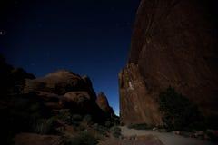 Utah på natten Royaltyfria Bilder
